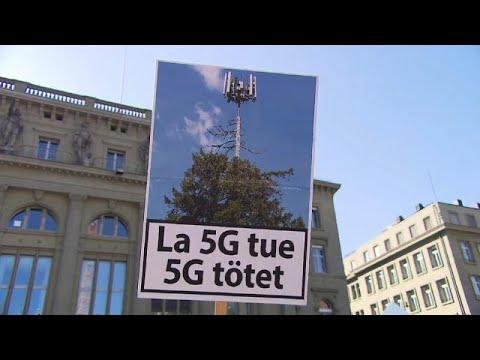 احتجاجات كبيرة في سويسرا ضد تكنولوجيا شبكة الجيل الخامس للاتصالات…  - نشر قبل 2 ساعة