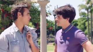 Violetta 3 - León habla con Andrés y escucha la conver. de Alex y Violetta (03x72)