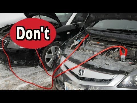 Never Do THIS When Jump Starting Your Car Battery