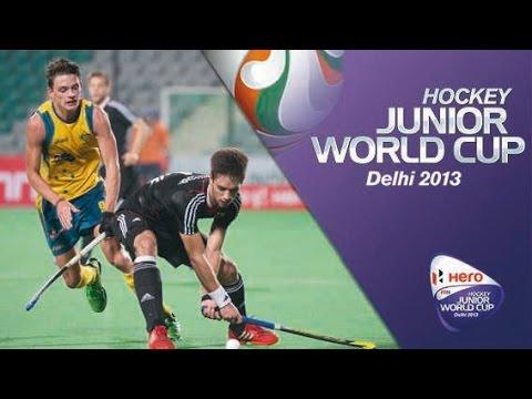 Australia vs Germany - Men's Hero Hockey Junior World Cup India Quarter Finals [12/12/2013]