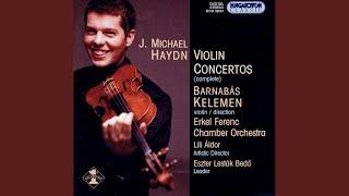 Violin Concerto in A major I. Allegro ma non troppo