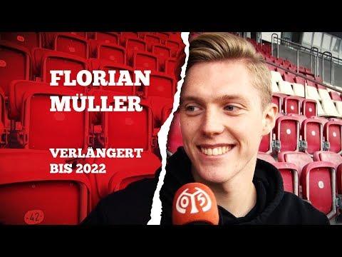 Vertragsverlängerung | Florian Müller | 1.FSV Mainz 05
