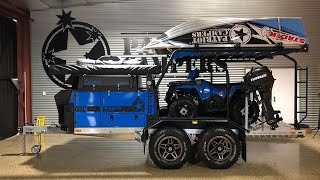 Patriot Campers - The Ultimate Off Road Toy Hauler Walk Around with Tommy