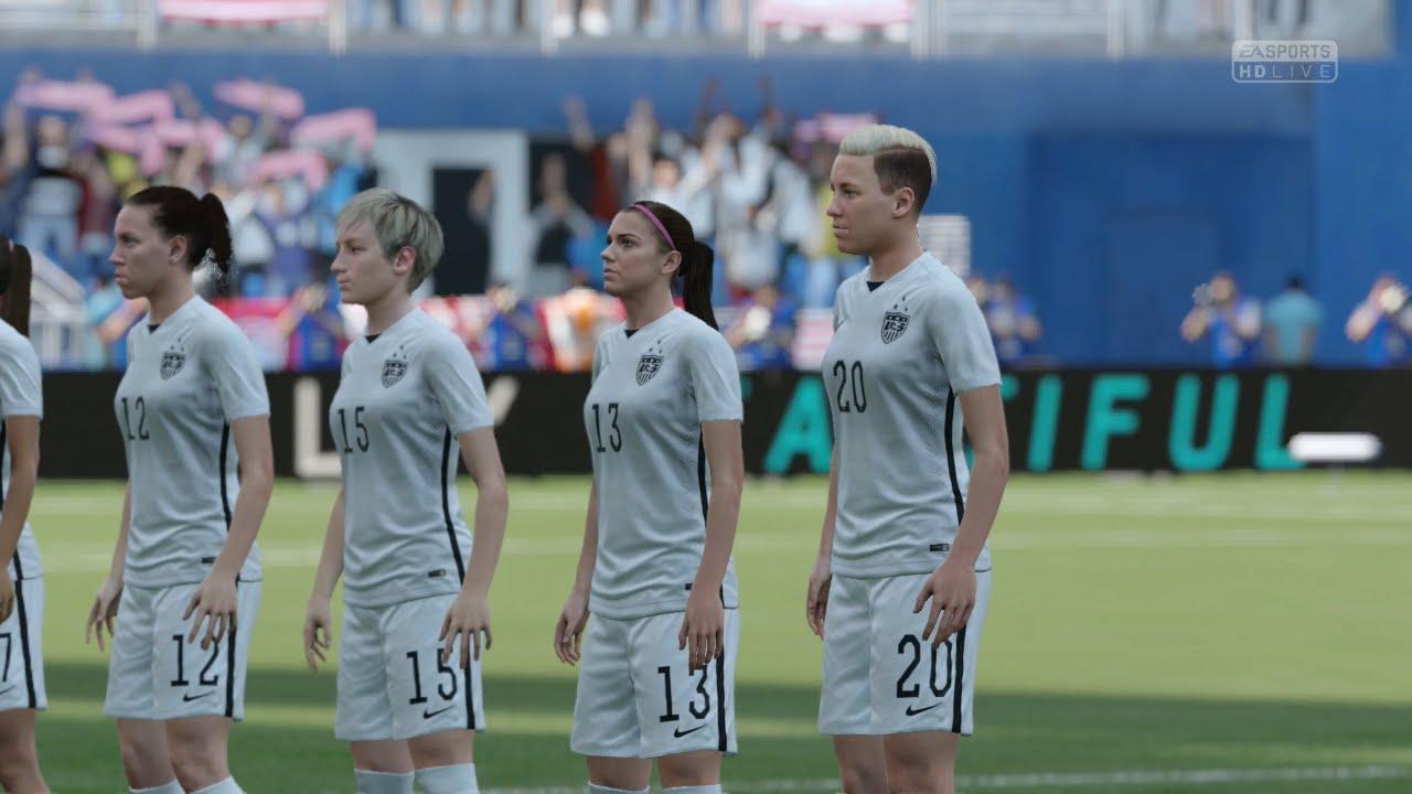 Fifa 16 Demo Us Women S Team Vs Germany Women S Team