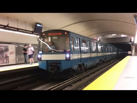 STM MR73s and MPM10 at various moments in Montreal QC