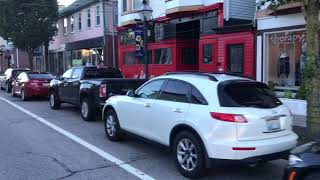 Tour of East Greenwich RI by car