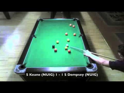 S Keane NUIG Vs S Dempsey NUIG