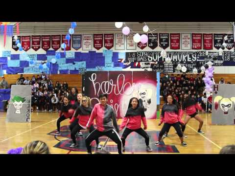 Bolsa Grande High School Sophomore Lip Sync 2015-2016