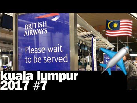 Resa med rullstol: Kuala Lumpur 2017 #7 - Dags att flyga hem
