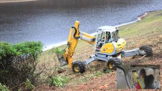 Kommunaltechnik | A91 4x4 mulching at Howden reservoir