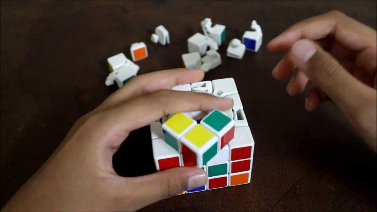 How to quickly assemble a Rubiks 4x4 cube: step-by-step instruction with pictures