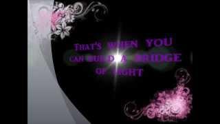 Bridge of light by Pink (karaoke)