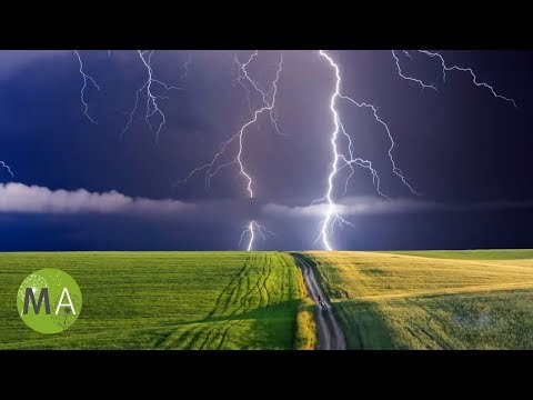 Thunderstorm Soundscape For Relaxation -  60 Minute Soundtrack