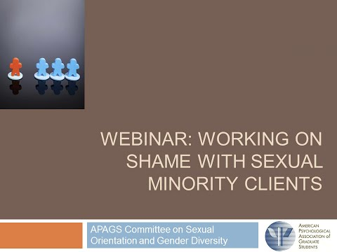 Sexual minority therapy