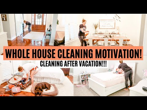 COMPLETE DISASTER WHOLE HOUSE CLEAN WITH ME 2019 | EXTREME CLEANING MOTIVATION | Amy Darley