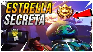 ESTRELLA SECRETA DENTRO DE FORTNITE TEMPORADA 4
