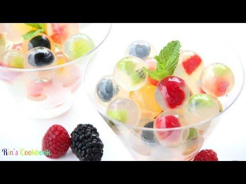 How to make Fruit Jelly Bubbles! วุ้นลูกแก้วผลไม้