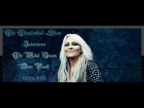 Exclusive Interview With The Metal Queen Doro Pesch On The Thunderhead Show