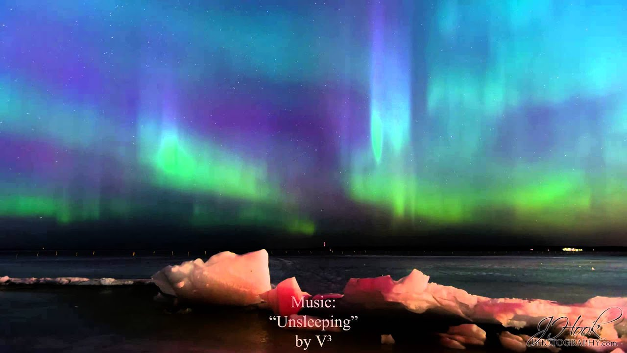 Northern Lights In Rauhaniemi, Tampere, Finland (March 17 18, 2015)