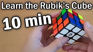 Learn How to SoĮve a Rubik's Cube in 10 Minutes (Beginner Tutorial)