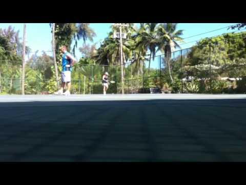 Tennis at Hilo Yacht club