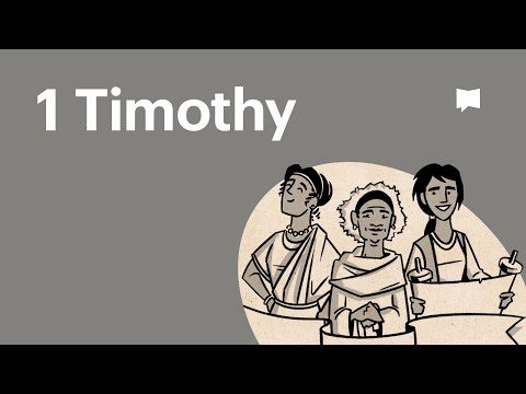 Read Scripture: 1 Timothy