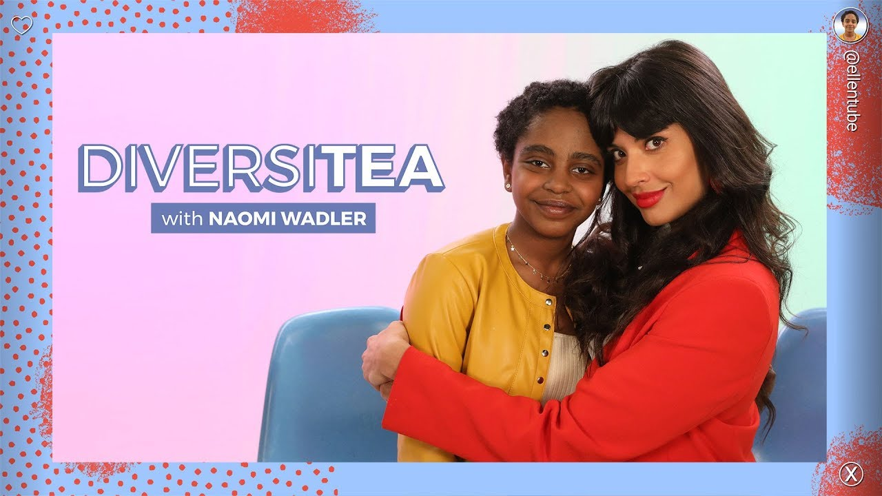'DiversiTEA with Naomi Wadler': Jameela Jamil on Bullying, and Body Positivity