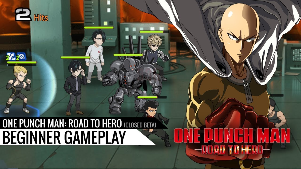 One Punch Man: Road to Hero - Closed Beta beginner gameplay