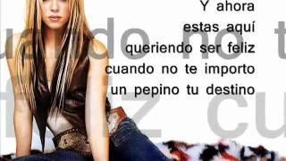 Shakira- Pies descalzos sueños blancos letra