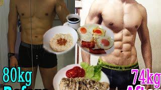40日間の減量(ダイエット)の結果と食事内容の紹介 thumbnail