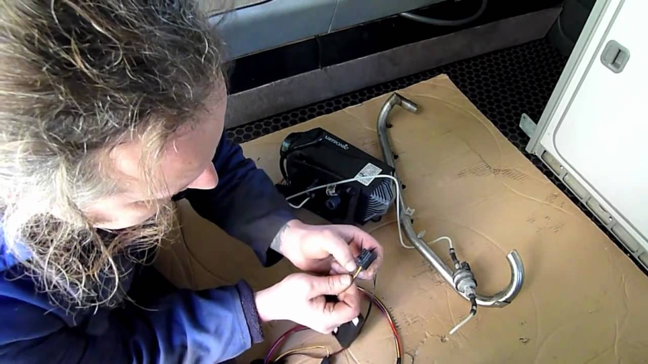 Land Rover Discovery 4 Wiring Diagram Air Conditioning Capacitor Eberspacher D2 Fitting Youtube