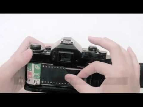 How to Load Film for Canon A-1 35mm SLR