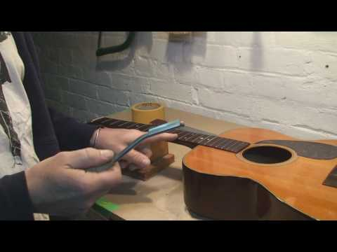 The Martin Guitar gets Fret Work
