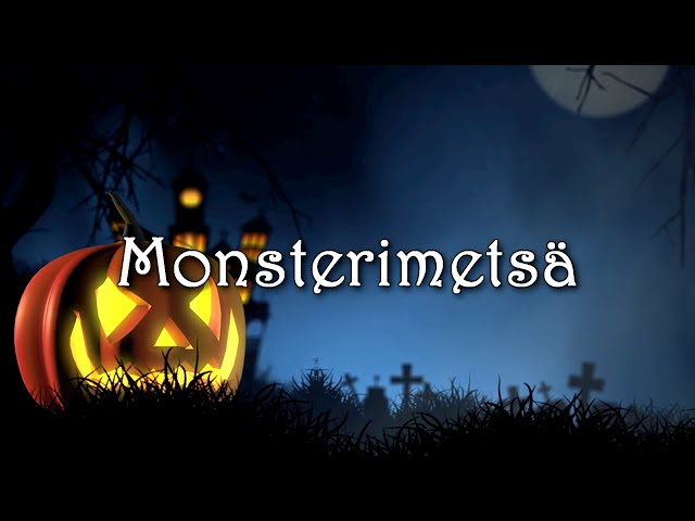 🌠 Lapsille & nuorille - Monsterimetsä