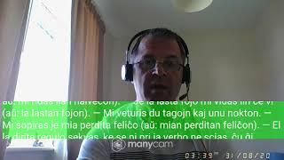Fundamento De Esperanto Ekzerco 29   Leciono pri je kaj n