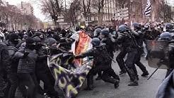 « Malgré le virus et la répression, Paris se révolte »