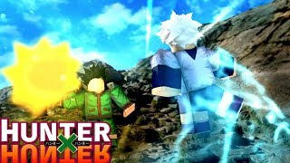 NEW UPCOMING HXH GAME! - Roblox