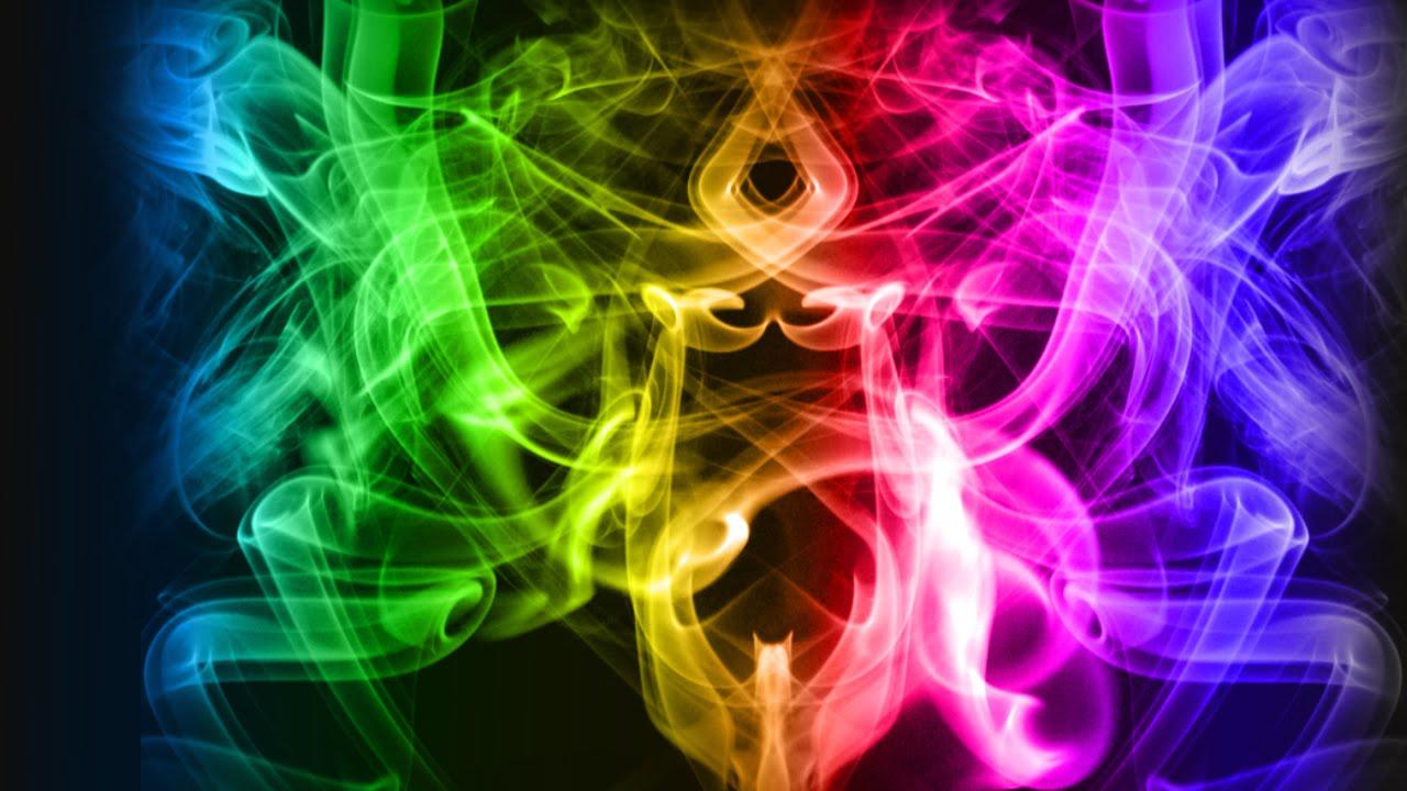 Color Smoke Background In Photoshop Cs6 Hindi Urdu Tutorial