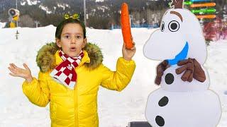 PIPONA. Снеговик убежал от Леры. Новогодняя сказка.