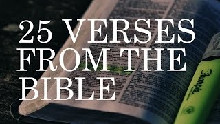 ✝ 25 Famous Bible Verses | Best Bible Verses & Quotes