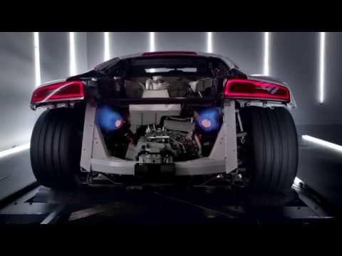 The new Audi R8 V10: TV CM (アウディ R8)