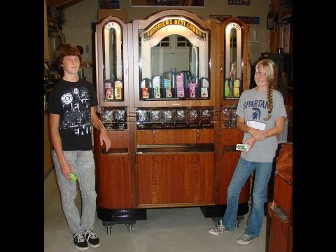America's Best Candy 1920s Theater Vending Machine - Full Restoration