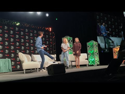 ECCC David Tennant and Billie Piper Panel Doctor Who