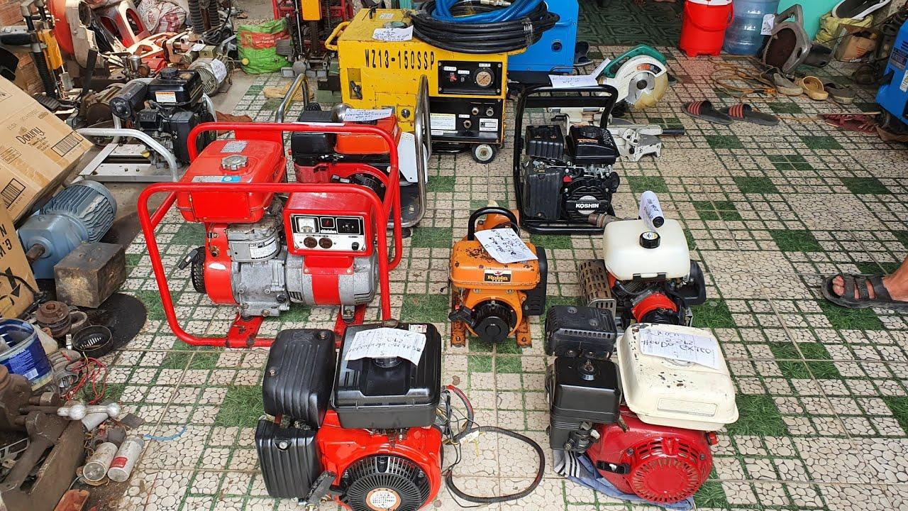 Động cơ nổ , phun thuốc , rửa xe cách âm áp cao Nhật bãi | LH 0914711438 | Ngày 15/04/2020