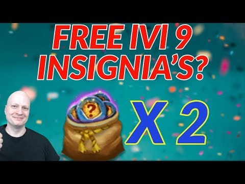 Free Level 9 Insignia's | Castle Clash | Free To Play Account