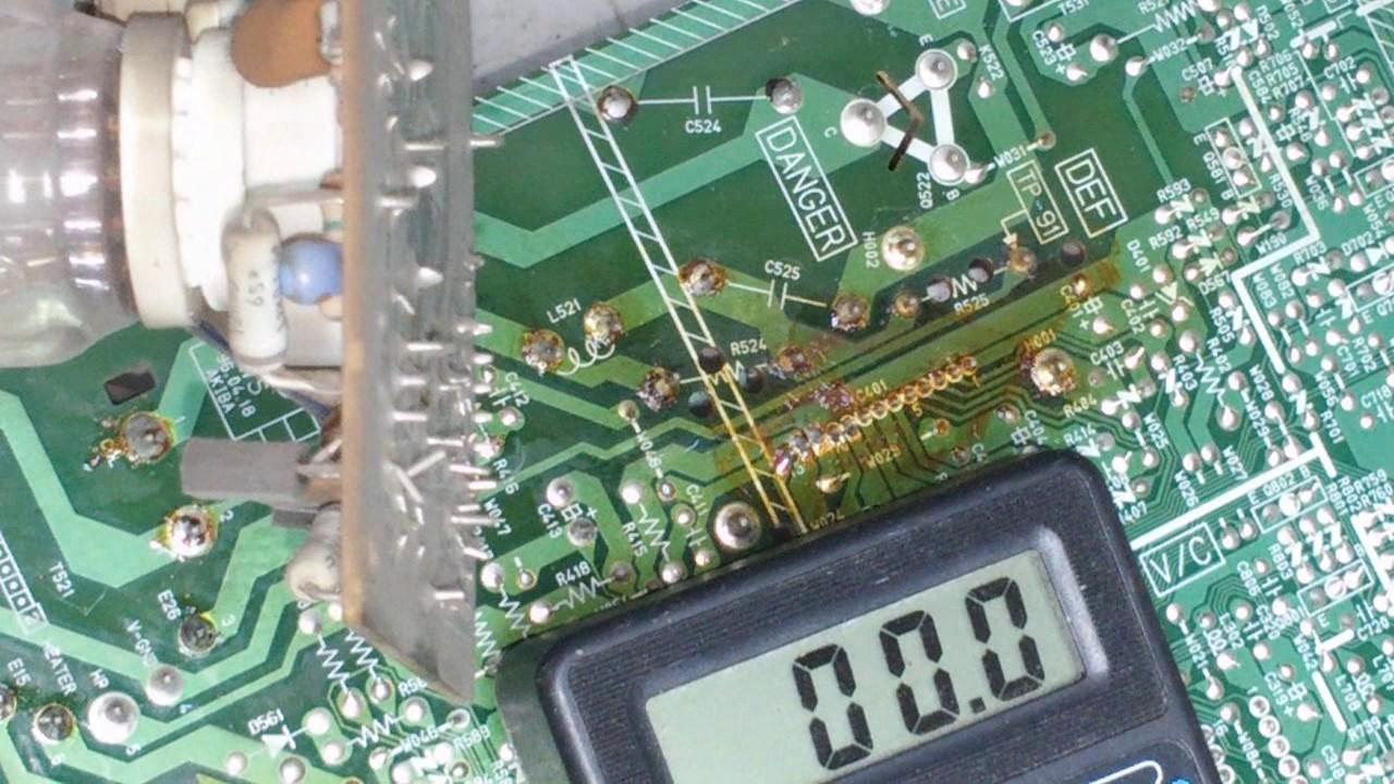 Микросхема кадровой развертки телевизора фото 723