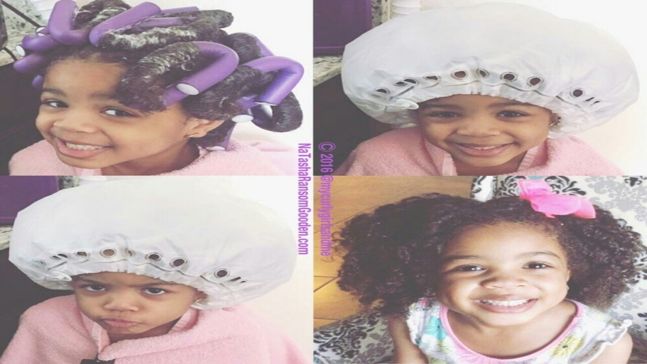 Kids Flexi Rod Set Teen Sister Does Little Sister Hair Youtube