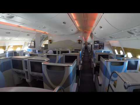 Luxury Flight A380 Emirates Business Class - Brisbane to Auckland