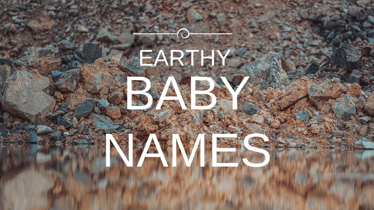 Earthy Baby Names - YouTube