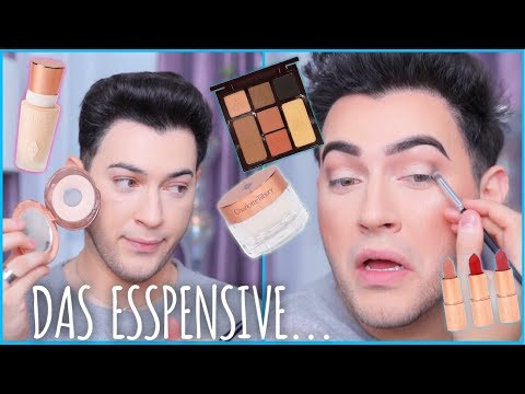 MOST EXPENSIVE ONE BRAND TUTORIAL  CHARLOTTE TILBURY! Manny MUA